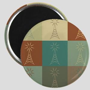 Amateur Radio Pop Art Magnet