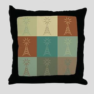 Amateur Radio Pop Art Throw Pillow