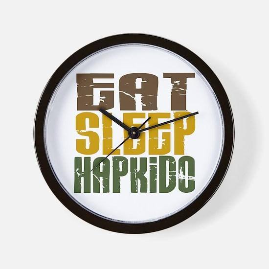 Eat Sleep Hapkido Wall Clock