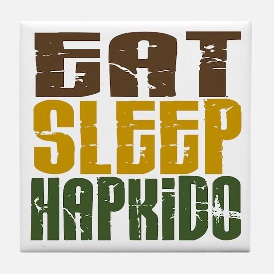 Eat Sleep Hapkido Tile Coaster