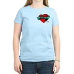 Twilight Bella Heart Tattoo Women's Light T-Shirt