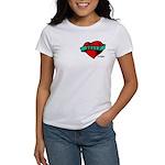 Twilight Bella Heart Tattoo Women's T-Shirt