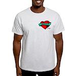 Twilight Bella Heart Tattoo Light T-Shirt