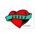 Twilight Bella Heart Tattoo Mini Poster Print
