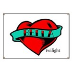 Twilight Bella Heart Tattoo Banner