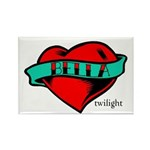 Twilight Bella Heart Tattoo Rectangle Magnet (10 p