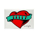 Twilight Bella Heart Tattoo Rectangle Magnet