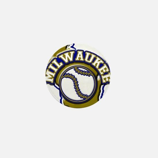 Milwaukee Baseball Mini Button