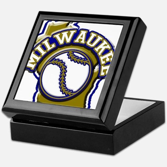 Milwaukee Baseball Keepsake Box