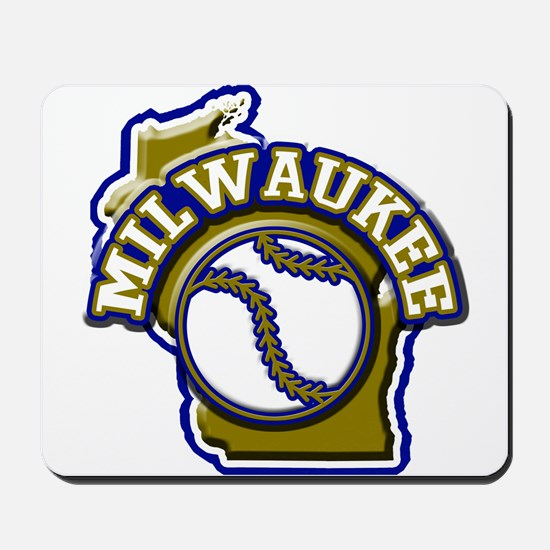 Milwaukee Baseball Mousepad