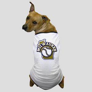 Milwaukee Baseball Dog T-Shirt