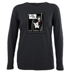 Ghost Post Plus Size Long Sleeve Tee T-Shirt
