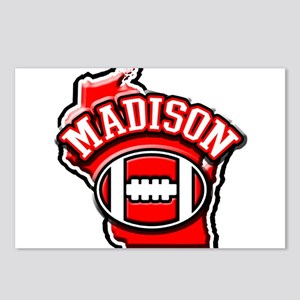 Madison Football Postcards (Package of 8)