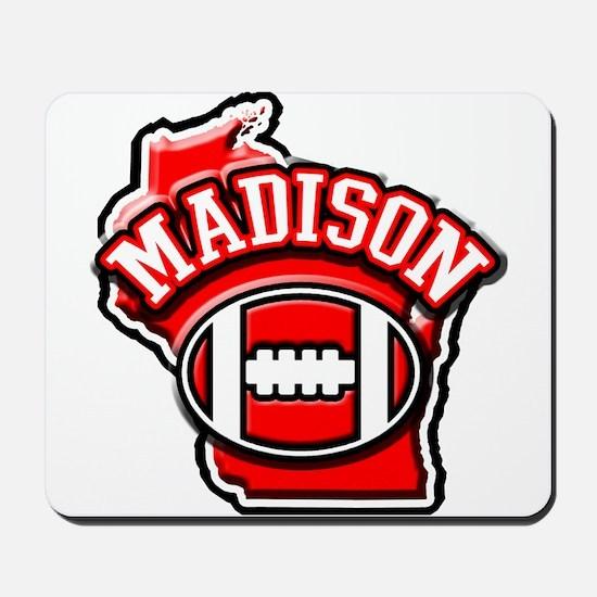 Madison Football Mousepad