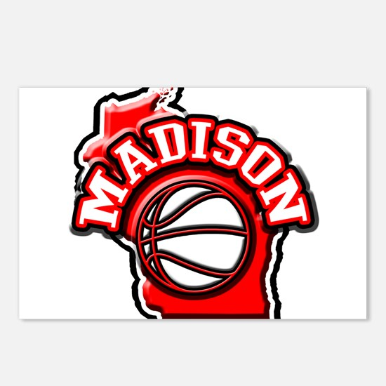 Madison Basketball Postcards (Package of 8)