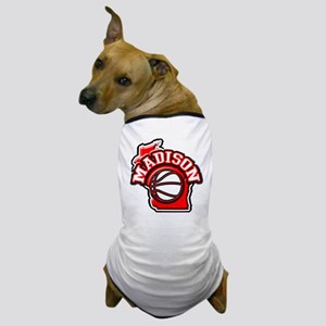 Madison Basketball Dog T-Shirt