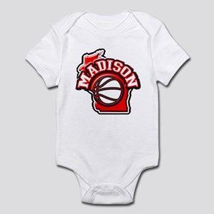 Madison Basketball Infant Bodysuit