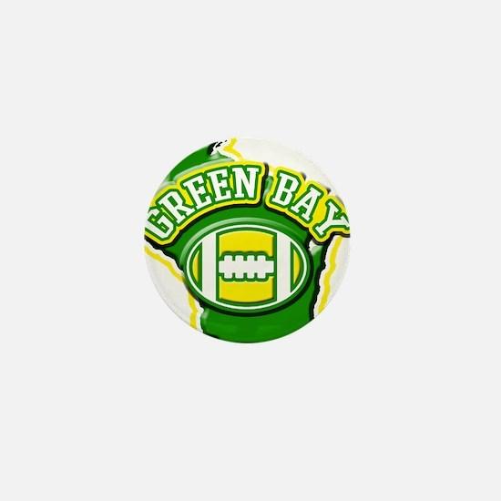 Green Bay Football Mini Button