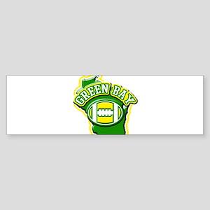 Green Bay Football Bumper Sticker