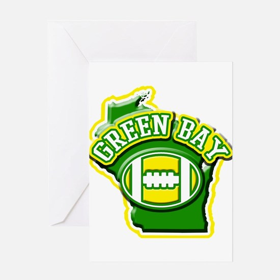 Green Bay Football Greeting Card