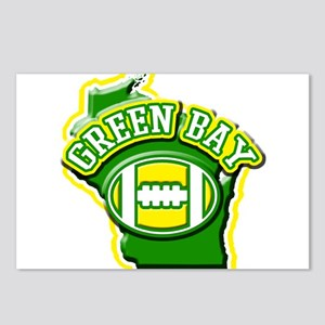 Green Bay Football Postcards (Package of 8)