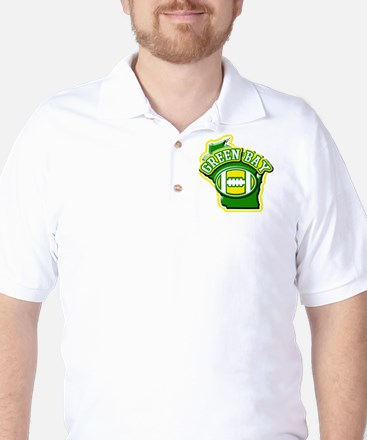 Green Bay Football Golf Shirt