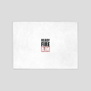 Ready Fire Aim 5'x7'Area Rug