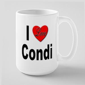 I Love Condi Large Mug