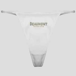 Retro Beaumont Classic Thong