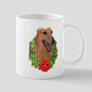 Red Wreath Mug