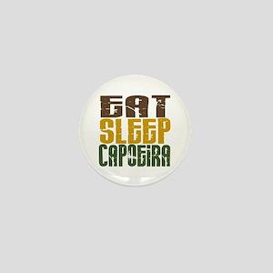 Eat Sleep Capoeira Mini Button