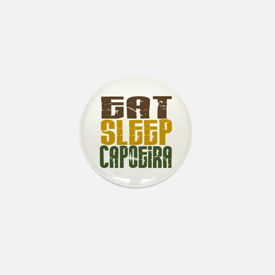 Eat Sleep Capoeira Mini Button