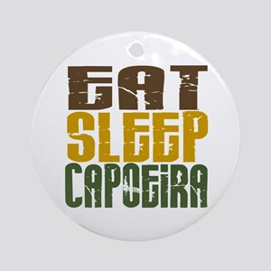 Eat Sleep Capoeira Ornament (Round)