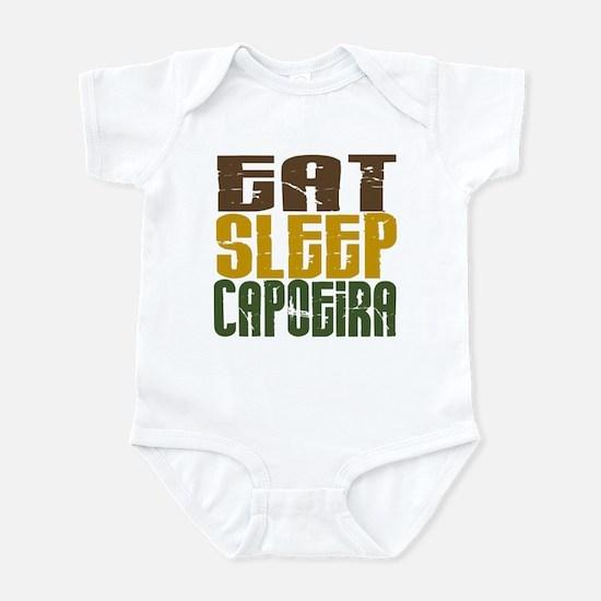 Eat Sleep Capoeira Infant Bodysuit