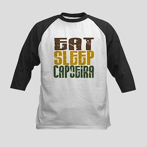 Eat Sleep Capoeira Kids Baseball Jersey