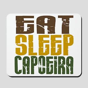 Eat Sleep Capoeira Mousepad