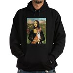 Mona Lisa - Basenji Hoodie (dark)