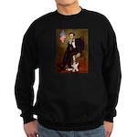 Lincoln / Basset Hound Sweatshirt (dark)