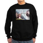 Creation & Basset Sweatshirt (dark)