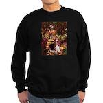 The Path & Basset Sweatshirt (dark)