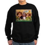 2 Angels & Basset Sweatshirt (dark)