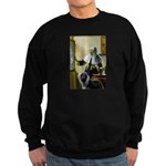 Pitcher / Bearded Collie Sweatshirt (dark)