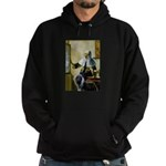 Pitcher / Bearded Collie Hoodie (dark)