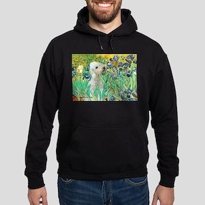 Irises /Bedlington T Hoodie (dark)