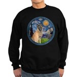 Starry/Belgian Malanois Sweatshirt (dark)