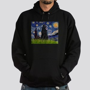 Starry Night /Belgian Sheepdog Hoodie (dark)