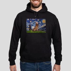 Starry Night Bloodhound Hoodie (dark)