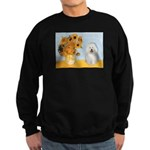 Sunflowers & Bolognese Sweatshirt (dark)