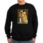 The Kiss & Border Collie Sweatshirt (dark)