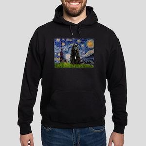 Starry Night Bouvier Hoodie (dark)